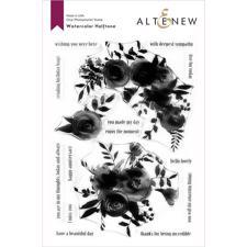 Altenew Clear Stamp Set -  Watercolor Halftone