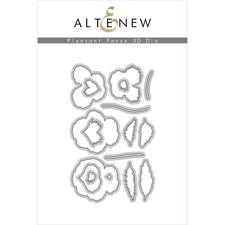 Altenew DIE Set - Pleasant Pansy 3D (die)