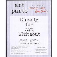Clearly for Art - White