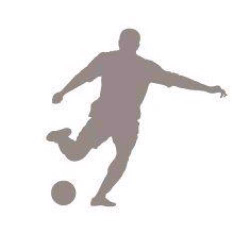 Artemio Wood Mounted Stamp - Football Player