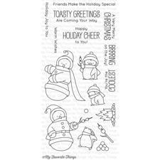 My Favourite Things Stamp Set -  Toasty Greetings