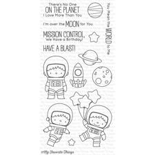 MFT Clear Stamp Set - Space Explorer