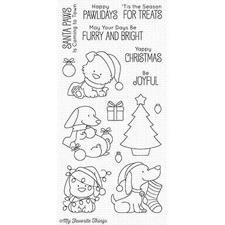 My Favourite Things Stamp Set - Happy Pawlidays