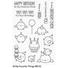 My Favourite Things Stamp Set - Birthday Chicks