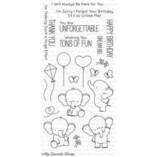 My Favourite Things Stamp Set -  Adorable Elephants