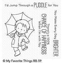 My Favourite Things Stamp Set - Puddle Jumper