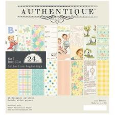 "Authentique Bundle 6x6"" - Beginnings (baby)"