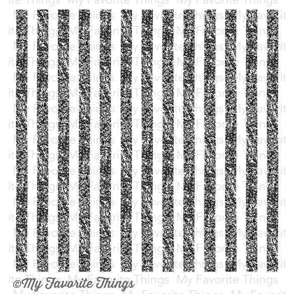 My Favorite Things Background Cling Stamp - Distressed Stripes