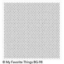 My Favorite Things Background Cling Stamp - Itsy Bitsy Polka Dots