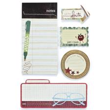 Basic Grey Writer's Block Journaling Set - Oxford