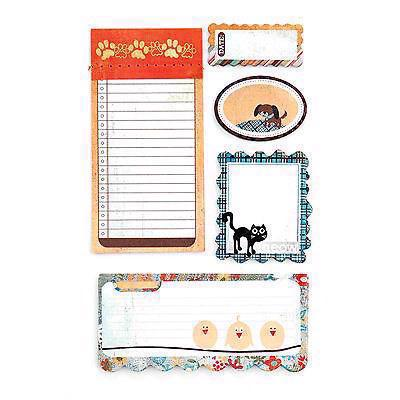 Basic Grey Writer\'s Block Journaling Set - Max & Whiskers