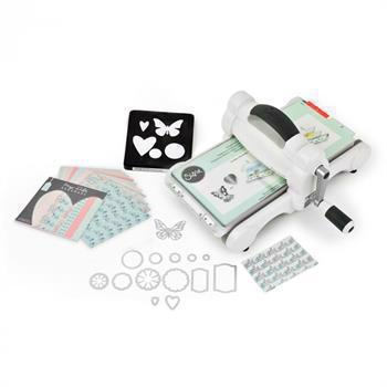 "Big Shot Maschine - White & Gray (standard) Starter Kit ""My Life Handmade"""