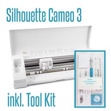 Silhouette CAMEO 3  (m. bluetooth) & Tool Kit (Bundle)