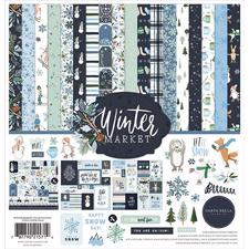 "Carta Bella Paper Collection Kit 12x12"" - Winter Market"