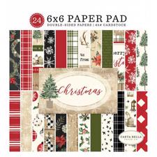 "Carta Bella Paper Pad 6x6"" - Christmas"