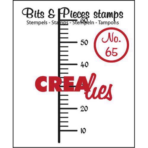Clearstamp CreaLies - Bits & Pieces 65 (lineal)