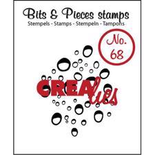 Clearstamp CreaLies - Bits & Pieces 68 (dråber)