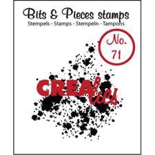 Clearstamp CreaLies - Bits & Pieces 71 (splats)