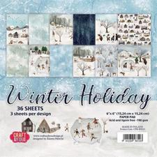 "Craft & You Paper Pad 6x6"" - Winter Holiday"