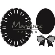 Marianne Design Craftables - Oval Ribbon Die