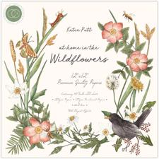 "Craft Consortium 12x12"" Paper Pad - At Home in the Wildflowers"