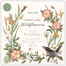 "Craft Consortium 6x6"" Paper Pad - At Home in the Wildflowers"