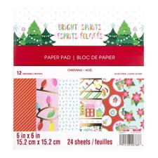 "Craft Smith 6x6"" Paper Pad - Bright Spirits"