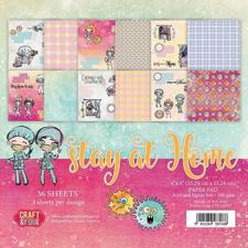 "Craft & You Paper Pad 6x6"" - Stay at Home"