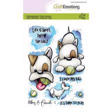 CraftEmotions Clear Stamp Set - Odey & Friends 1