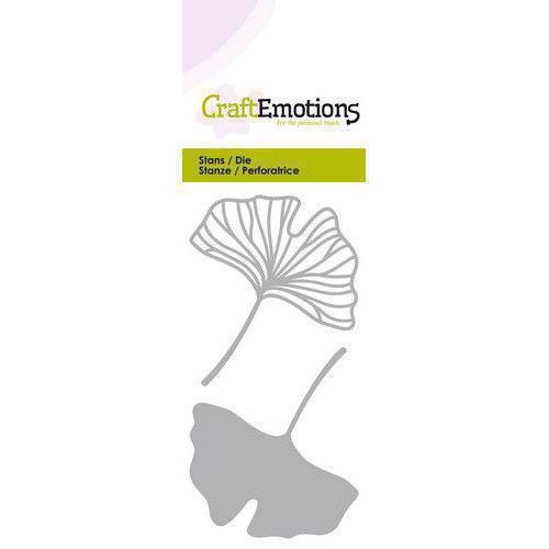 Craft Emotion Dies - Ginkgo Leaves (open & closed)