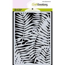 Craftemotions Mask Stencil - Palm Leaves (A6)
