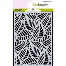 Craftemotions Mask Stencil - Skeleton Leaves (A6)