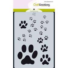 Craftemotions Mask Stencil - Paw Print (A6)