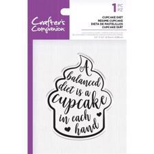 Crafters Companion Clear Stamp - Cupcake Diet