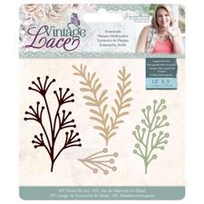 Crafters Companion Die - Vintage Lace / Botanicals