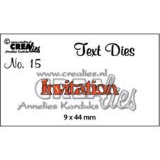 CREAlies - Text Die - Invitation