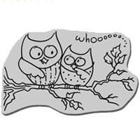 Stampendous Cling Stamp - Owl Friends