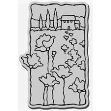 Stampendous Cling Stamp Scenes - Poppy Scene