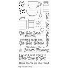 My Favourite Things Stamp Set - Feel Better