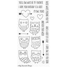 My Favourite Things Stamp Set - I'm Owl Yours (inkl. die)