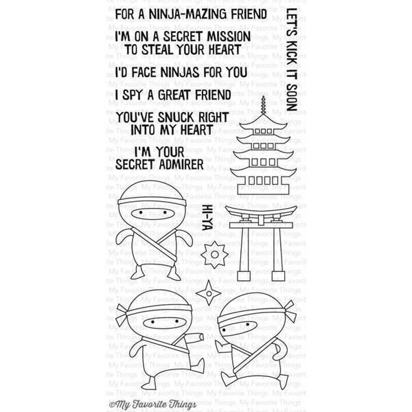 My Favourite Things Stamp Set - Ninja-Mazing