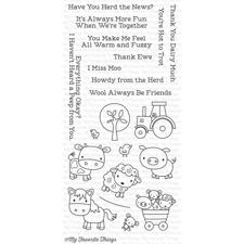 My Favourite Things Stamp Set - Farm Friends