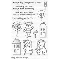 My Favourite Things Stamp Set - Town Bear