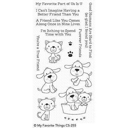 My Favourite Things Stamp Set - Furever Friends (hunde)