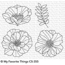My Favourite Things Stamp Set - Brilliant Blooms