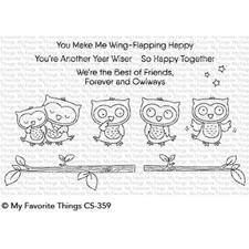 My Favourite Things Stamp Set - Forever and Owlways