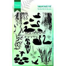 Marianne Design Clear Stamp  - Silhouette Wetlands