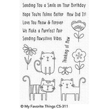 My Favourite Things Stamp Set - Meow Mix