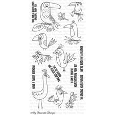 My Favourite Things Stamp Set - Birds of Paradise