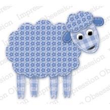 Impression Obsession (IO) Die - Patchwork Sheep